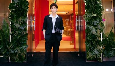 【吴磊】出席宝格丽活动,快来康康专属于磊磊子的男性浪漫!